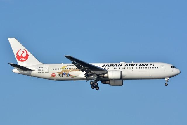 サンドバンクさんが、羽田空港で撮影した日本航空 767-346/ERの航空フォト(飛行機 写真・画像)