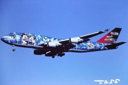 tassさんが、成田国際空港で撮影した日本航空 747-446の航空フォト(飛行機 写真・画像)