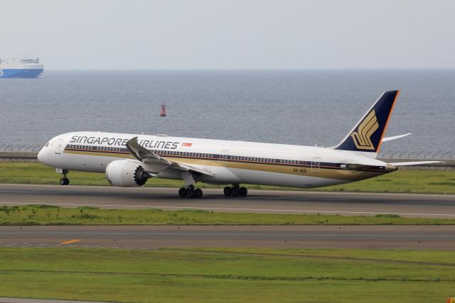 わんだーさんが、中部国際空港で撮影したシンガポール航空 787-10の航空フォト(飛行機 写真・画像)