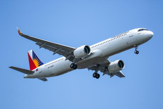 @taiga_mainさんが、羽田空港で撮影したフィリピン航空 A321-271NXの航空フォト(飛行機 写真・画像)