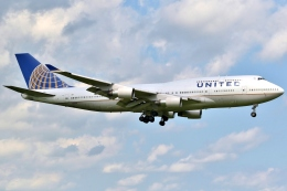 JJ✈さんが、成田国際空港で撮影したユナイテッド航空 747-422の航空フォト(飛行機 写真・画像)