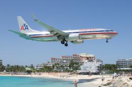 かずまっくすさんが、プリンセス・ジュリアナ国際空港で撮影したアメリカン航空 737-823の航空フォト(飛行機 写真・画像)