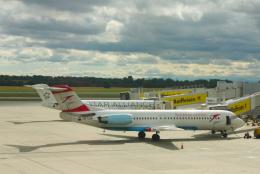 inyoさんが、ウィーン国際空港で撮影したオーストリアン・アローズ 100の航空フォト(飛行機 写真・画像)