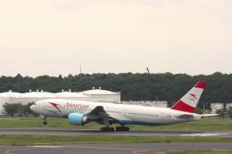 inyoさんが、成田国際空港で撮影したオーストリア航空 777-2B8/ERの航空フォト(飛行機 写真・画像)