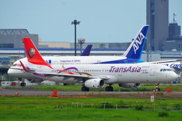 ちっとろむさんが、成田国際空港で撮影したトランスアジア航空 A321-231の航空フォト(飛行機 写真・画像)