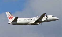 Rsaさんが、札幌飛行場で撮影した北海道エアシステム 340B/Plusの航空フォト(飛行機 写真・画像)