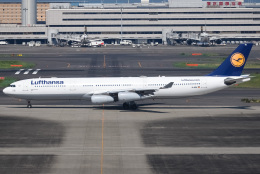 renseiさんが、羽田空港で撮影したルフトハンザドイツ航空 A340-313Xの航空フォト(飛行機 写真・画像)