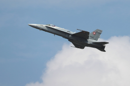AkiChup0nさんが、フェアフォード空軍基地で撮影したスイス空軍 F/A-18C Hornetの航空フォト(飛行機 写真・画像)