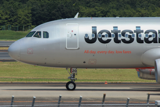 ホタテ㌠さんが、成田国際空港で撮影したジェットスター・ジャパン A320-232の航空フォト(飛行機 写真・画像)