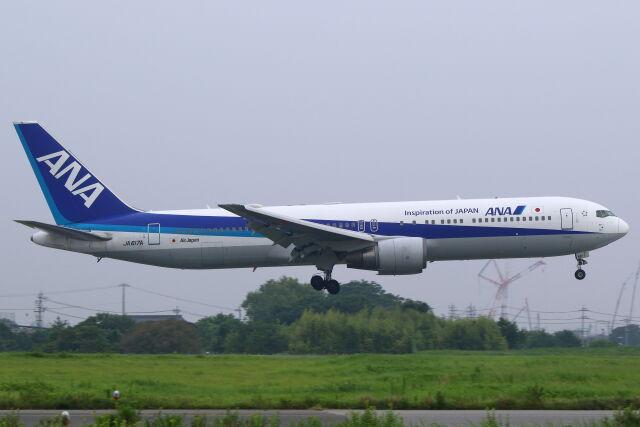 CYGNUS_20-1101さんが、米子空港で撮影した全日空 767-381/ERの航空フォト(飛行機 写真・画像)
