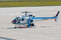 Ariesさんが、函館空港で撮影した中日本航空 AS350B Ecureuilの航空フォト(飛行機 写真・画像)