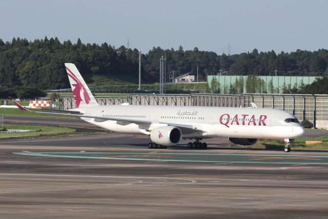 utarou on NRTさんが、成田国際空港で撮影したカタール航空 A350-1041の航空フォト(飛行機 写真・画像)