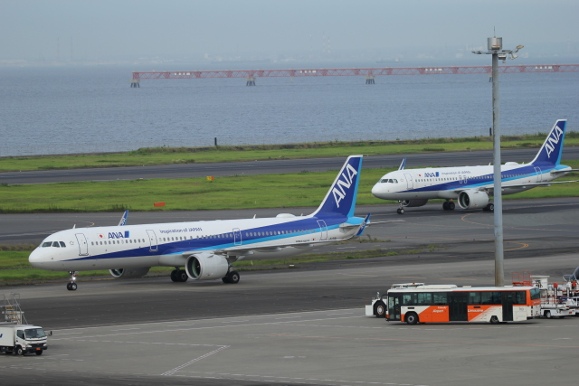 landing_lightさんが、羽田空港で撮影した全日空 A321-272Nの航空フォト(飛行機 写真・画像)