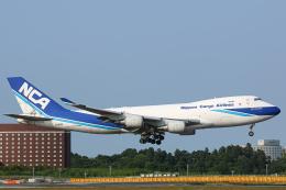 SGR RT 改さんが、成田国際空港で撮影した日本貨物航空 747-4KZF/SCDの航空フォト(飛行機 写真・画像)