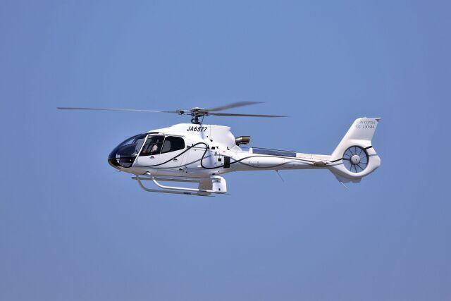 O-TOTOさんが、静岡空港で撮影したユーロヘリ EC130B4の航空フォト(飛行機 写真・画像)