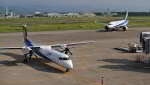 オキシドールさんが、小松空港で撮影したANAウイングス DHC-8-402Q Dash 8の航空フォト(飛行機 写真・画像)