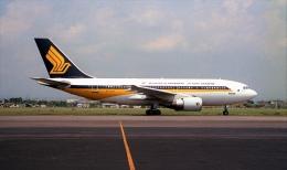 ハミングバードさんが、名古屋飛行場で撮影したシンガポール航空 A310-222の航空フォト(飛行機 写真・画像)