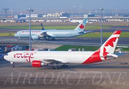 AIRFORCE ONEさんが、羽田空港で撮影したエア・カナダ・ルージュ 767-35H/ERの航空フォト(飛行機 写真・画像)