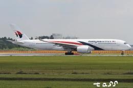 tassさんが、成田国際空港で撮影したマレーシア航空 A350-941の航空フォト(飛行機 写真・画像)