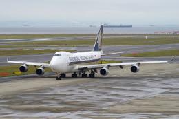 yabyanさんが、中部国際空港で撮影したシンガポール航空カーゴ 747-412F/SCDの航空フォト(飛行機 写真・画像)