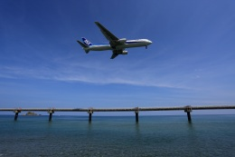 julyさんが、鳥取空港で撮影した全日空 767-381/ERの航空フォト(飛行機 写真・画像)