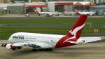 FlyingMonkeyさんが、シドニー国際空港で撮影したカンタス航空 A380-842の航空フォト(飛行機 写真・画像)