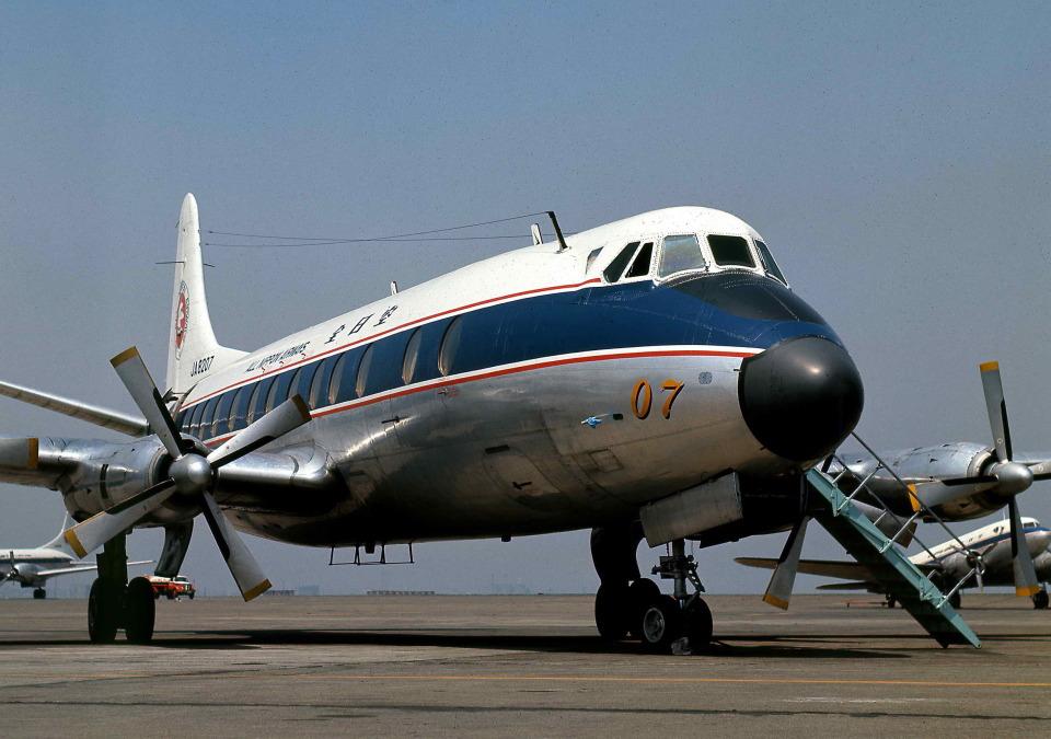 Y.Todaさんの全日空 Vickers Viscount (JA8207) 航空フォト