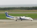 エアキンさんが、新潟空港で撮影したANAウイングス DHC-8-402Q Dash 8の航空フォト(飛行機 写真・画像)