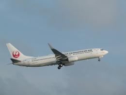 ノリださんが、宮古空港で撮影した日本トランスオーシャン航空 737-8Q3の航空フォト(飛行機 写真・画像)