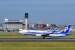 かえでさんが、伊丹空港で撮影した全日空 737-881の航空フォト(飛行機 写真・画像)