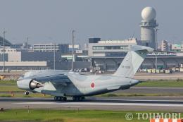 遠森一郎さんが、福岡空港で撮影した航空自衛隊 C-2の航空フォト(飛行機 写真・画像)