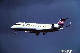 tassさんが、仙台空港で撮影したフェアリンク CL-600-2B19 Regional Jet CRJ-100LRの航空フォト(飛行機 写真・画像)