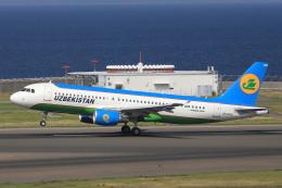 わんだーさんが、中部国際空港で撮影したウズベキスタン航空 A320-214の航空フォト(飛行機 写真・画像)