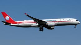 Shotaroさんが、上海浦東国際空港で撮影した四川航空 A350-941の航空フォト(飛行機 写真・画像)