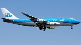Shotaroさんが、上海浦東国際空港で撮影したKLMオランダ航空 747-406Mの航空フォト(飛行機 写真・画像)