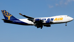 Shotaroさんが、上海浦東国際空港で撮影したアトラス航空 747-47UF/SCDの航空フォト(飛行機 写真・画像)