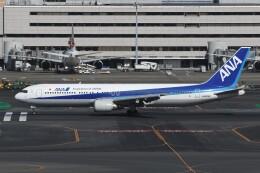 N.tomoさんが、羽田空港で撮影した全日空 767-381の航空フォト(飛行機 写真・画像)