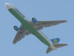 BOEING737MAX-8さんが、成田国際空港で撮影したウズベキスタン航空 767-33P/ERの航空フォト(飛行機 写真・画像)