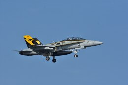 ちどりんさんが、岩国空港で撮影したアメリカ海兵隊 F/A-18D Hornetの航空フォト(飛行機 写真・画像)