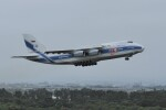 kumagorouさんが、仙台空港で撮影したヴォルガ・ドニエプル航空 An-124-100 Ruslanの航空フォト(飛行機 写真・画像)