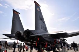 Cスマイルさんが、三沢飛行場で撮影したアメリカ空軍 F-15E-44-MC Strike Eagleの航空フォト(飛行機 写真・画像)