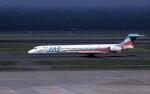 kumagorouさんが、羽田空港で撮影した日本エアシステム MD-90-30の航空フォト(飛行機 写真・画像)