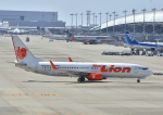 kix-booby2さんが、関西国際空港で撮影したタイ・ライオン・エア 737-8GPの航空フォト(飛行機 写真・画像)
