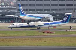 O.TAKUMAさんが、伊丹空港で撮影したANAウイングス DHC-8-402Q Dash 8の航空フォト(飛行機 写真・画像)