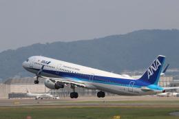 O.TAKUMAさんが、伊丹空港で撮影した全日空 A321-211の航空フォト(飛行機 写真・画像)