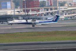 O.TAKUMAさんが、伊丹空港で撮影したエアーニッポンネットワーク DHC-8-402Q Dash 8の航空フォト(飛行機 写真・画像)