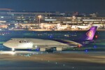 B747‐400さんが、羽田空港で撮影したタイ国際航空 747-4D7の航空フォト(飛行機 写真・画像)