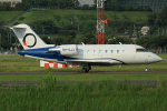 板付蒲鉾さんが、福岡空港で撮影したElitavia Malta CL-600-2B16 Challenger 650の航空フォト(飛行機 写真・画像)