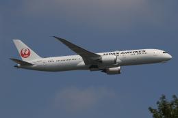航空フォト:JA876J 日本航空 787-9