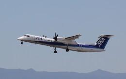yuu@HKD/RJCHさんが、新千歳空港で撮影したANAウイングス DHC-8-402Q Dash 8の航空フォト(飛行機 写真・画像)